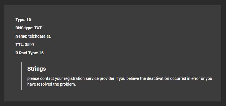 DNS Lookup API