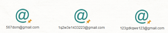 We then added three email addresses related to CoolWebSearch.